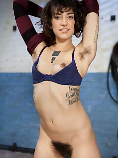 tiny tits and hairy pussy photos